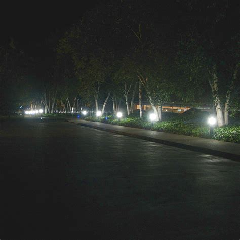 landscape bollard lights 11w led square bollards with type 5 glass 120v