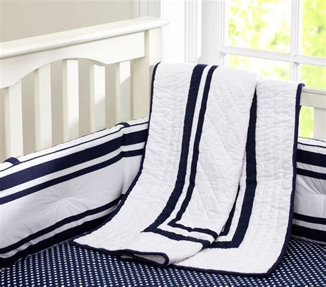 Navy And White Crib Bedding Pin By Elizabeth Simmons On Baby Simmons 2