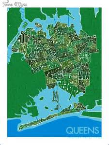 Map Of Queens New York by Queens New York Map Neighborhood Map Travel Holiday