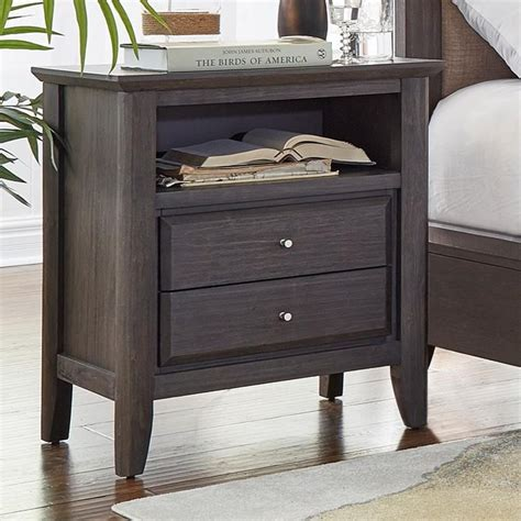 modus international city ii 2 drawer nightstand rife s