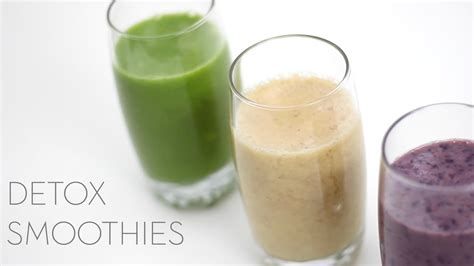 Free Recipes For Detox Smoothies by Detox Smoothie Recipes