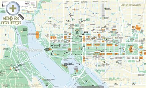 washington dc map tourist maps update 700495 washington dc tourist map printable