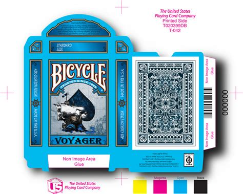 bicycle card box template voyager bicycle 174 cards by the other look kickstarter
