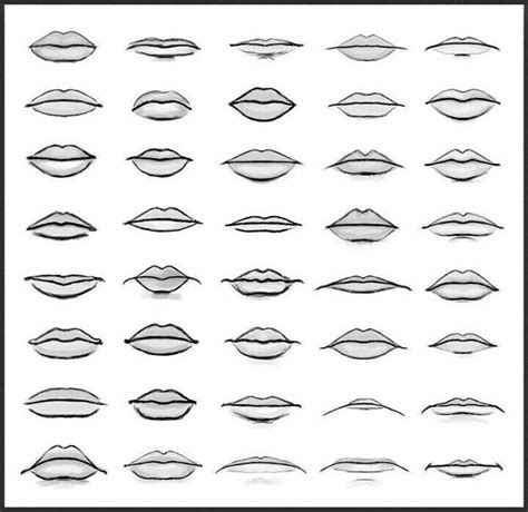 how to draw mouths 25 best drawing ideas on