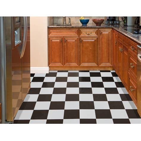 black and white square laminate flooring