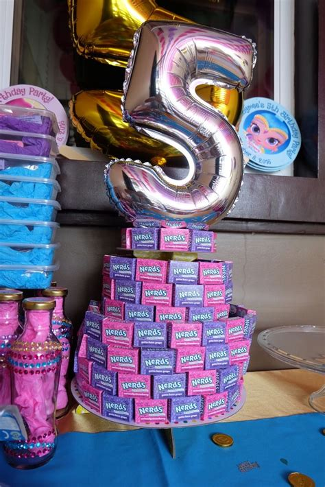 A Shimmery Disco by Shimmer And Shine Nerds Cake Cake Jaymee S