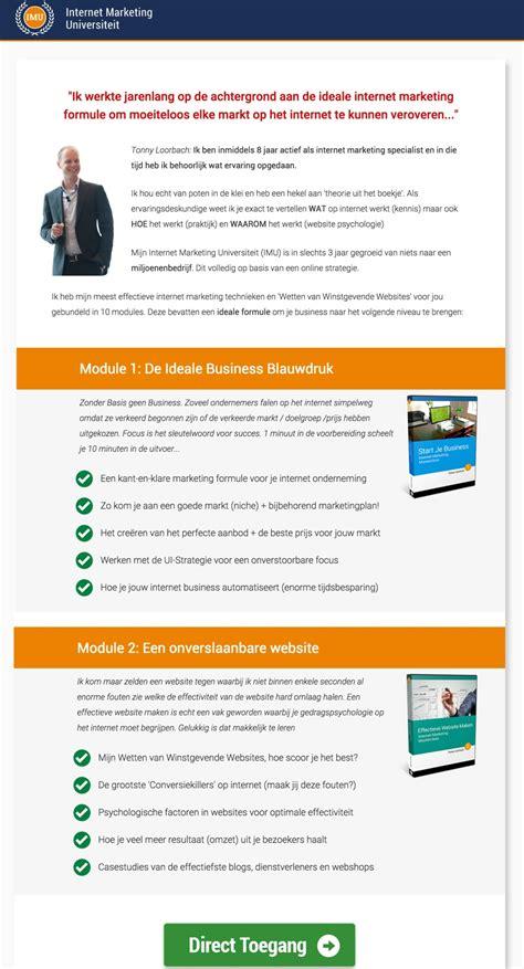 home page design sles de kracht van een goede salespage