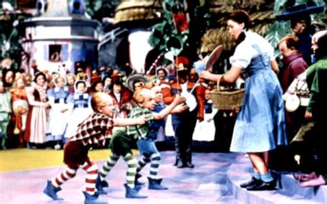 Set Lolipop Kid judy garland was molested by munchkins on the set of wizard of oz according to late husband s