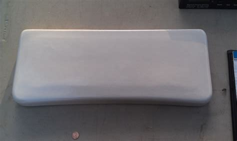 Tank Cover Br V Luruxy 7v54 universal rundle toilet tank lid white 21 1 4 quot x 8