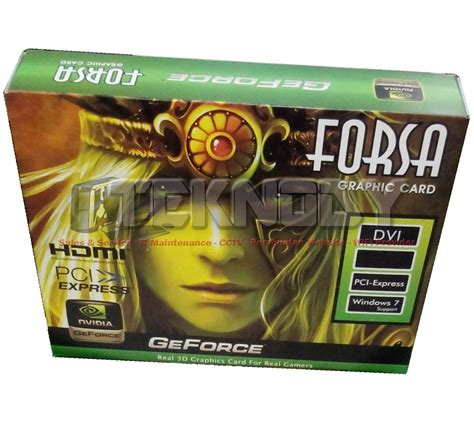 Freezer Box Seken vga forsa nvidia geforce pcie gt210 1gb 64bit ddr3
