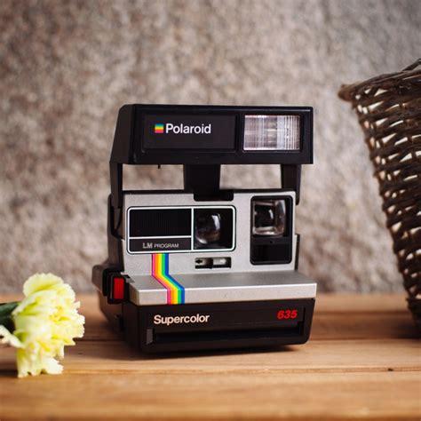 camaras antiguas instantaneas polaroid supercolor 635 my vintage shoot