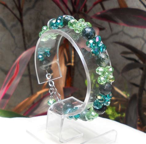 Gelang Lilit Cristal Cutting Cantik 1 liz collection gelang batu bracelet dan