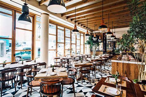 Kitchen Breakfast Bars Designs chef laurent tourondel opens new york city restaurant l
