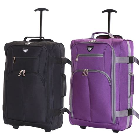 cabin baggage ryanair easyjet 55 cm cabin approved trolley suitcase