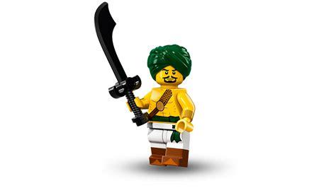 lego minifigures series 16 desert warrior