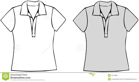 polo t shirt pattern vector polo shirts stock vector image of women sleeve