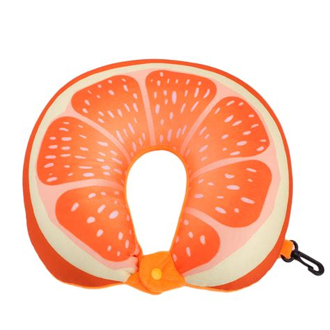 fruit u fruit u shaped pillow travel kiwi orange pillows cushion