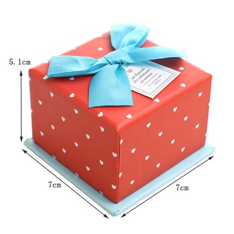 custom gift boxes small craft box christmas candy gift