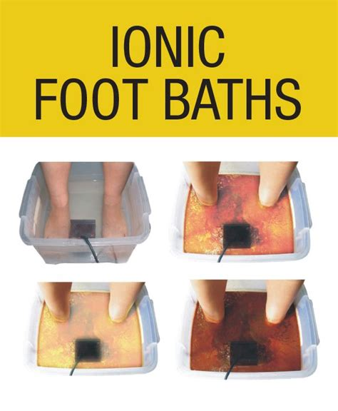 Will Negative Ion Foot Detox Help Gout by Ionic Foot Baths The Wellness Center