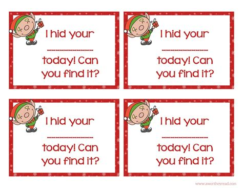 elf on the shelf blank printable letter elf on the shelf ideas with printable cards this worthey