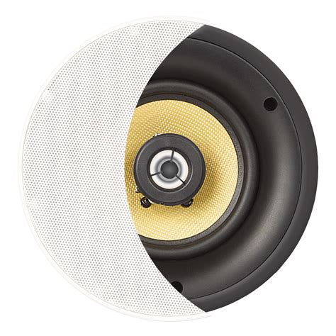 Ceiling Subwoofer by Ace650 6 5 Quot Kevlar Woofer Trimless Thin Bezel 2 Way Ceiling Speaker Pair