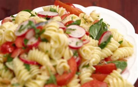 Garden Vegetable Pasta With Smoked Mozzarella San Remo Garden Vegetable Pasta