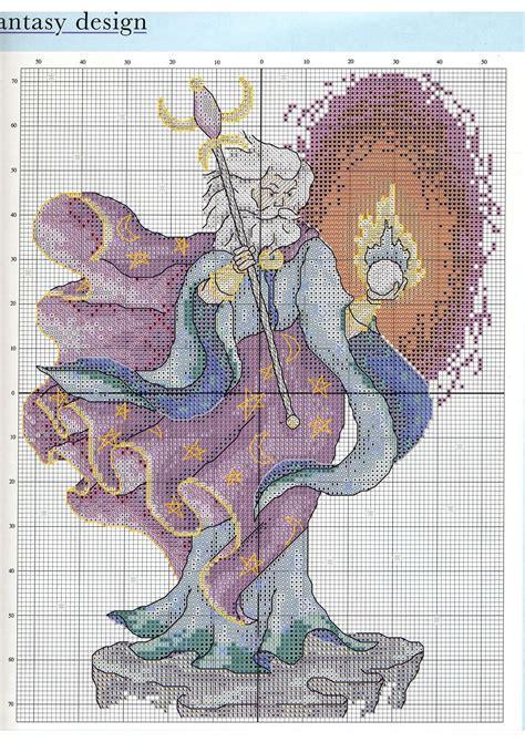 free pattern wizard merlin the wizard cross stitch pattern 3 free cross