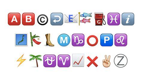 Letter Emoji emoji emoji alphabet emojibet