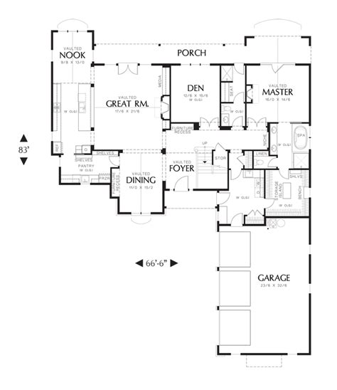 mascord floor plans mascord house plan 2477 house plans ranch style homes and ranch homes