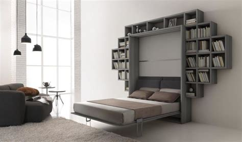 contemporary wall bed