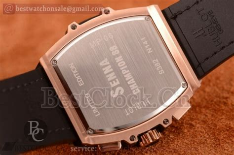 hublot mp 06 senna chion 88 chrono replica quartz