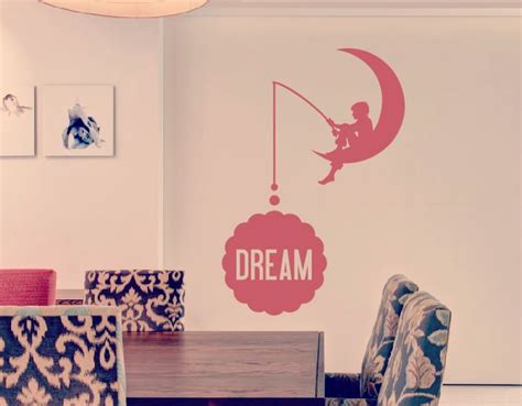 Wall Stickers Art vinilo decoraci 243 n con textos y frases quot dream quot 02668