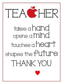 25 best ideas about teacher appreciation quotes on