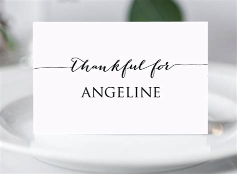 place card template gartner free thanksgiving place card templates 183 diy wedding