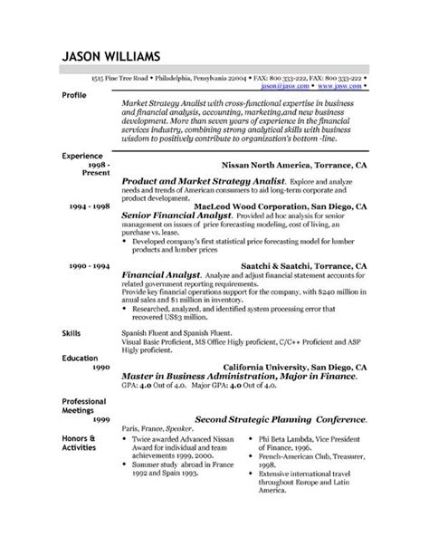 Resume Sle In Docx Sle Resume Format March 2015 28 Images Resume Writing Format New Calendar Template Site Cv