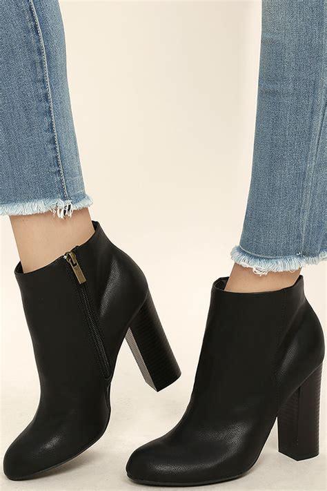ankle booties high heel black booties high heel booties ankle booties