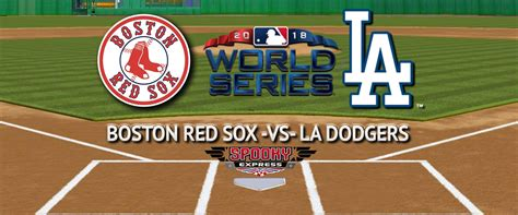 world series game  betting preview boston red sox  la dodgers
