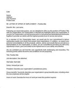 How to write a job offer letter sample cover letter templates