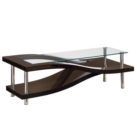 Modern Glass And Wood Coffee Table Modern Glass And Wood Coffee Table