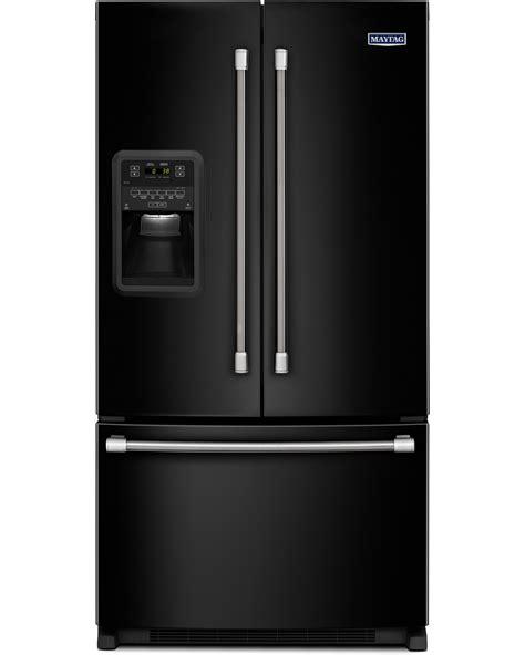 Black Door Refrigerator by Maytag 22 Cu Ft Door Refrigerator W Wide N Fresh