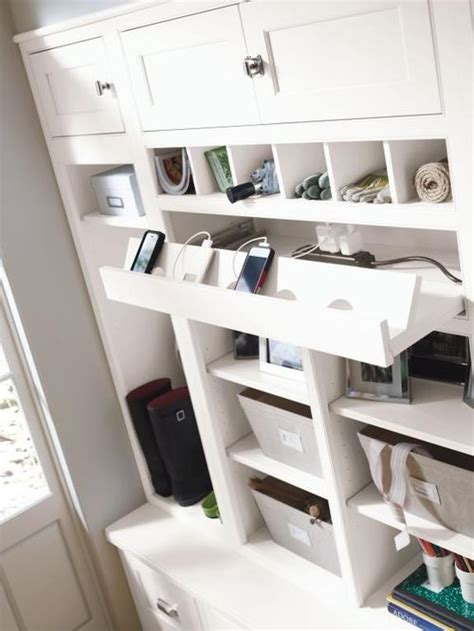 cellphone charging cabnet charging station home design ideas pictures remodel and
