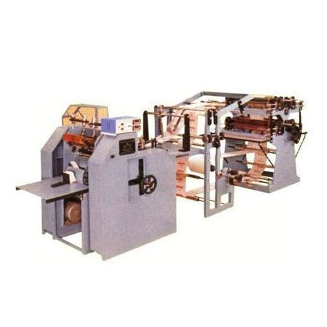 Automatic Paper Bag Machine - automatic paper bag machine baby modal at rs 375000