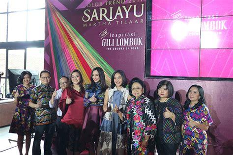 Eyeshadow Kit Sariayu Gili Lombok martha tilaar sariayu martha tilaar launched color trend inspired by gili and lombok