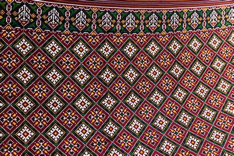 Home Design Examples a finished patola saree patan gujarat india