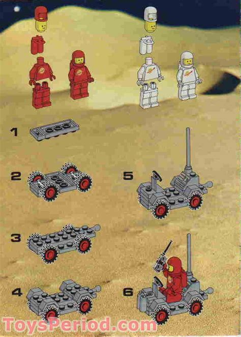 lego   alpha  rocket base set parts inventory  instructions lego reference guide