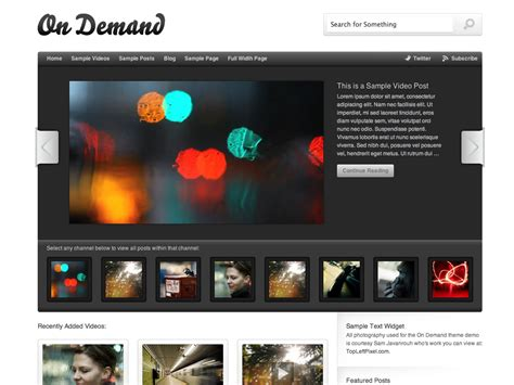 list themes for wordpress on demand theme wordpress com