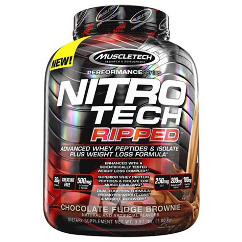 Harga Special Muscletech Nitrotech 4 Lb nitro tech performance ripped 4 lbs
