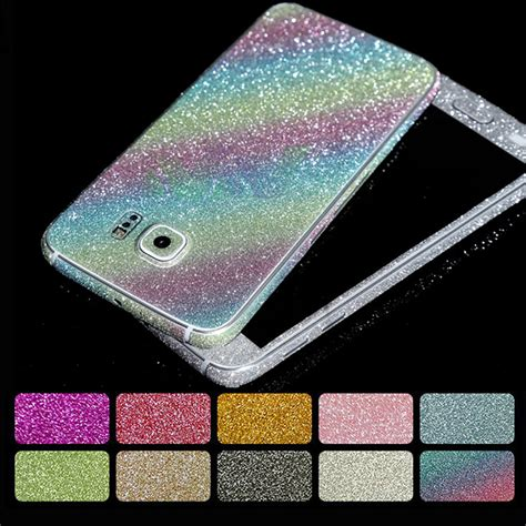 Stiker Gliter Samsung J5 2016 fashion glitter sticker front back cover for samsung galaxy a3 a5 a7 j3 j5 j7 2016 grand prime
