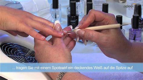 Fingernagel Lackieren Anleitung by Fingern 228 Gel Lackieren Tipps Trends Anleitungen Nded