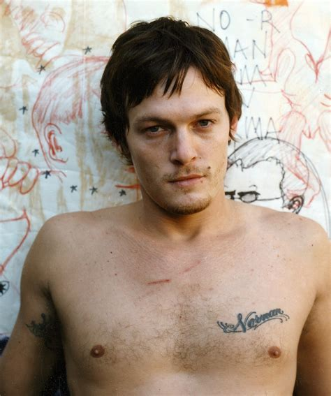 norman reedus tattoos norman reedus quotes quotesgram